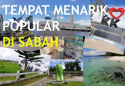 Tempat Menarik yang Popular Di Sabah