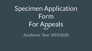 Academic Year 2019/2020