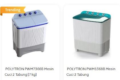 Rekomendasi Produk Mesin Cuci Polytron 2 Tabung Terbaik