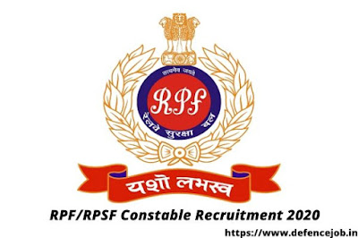 RPF/RPSF Constable Recruitment 2020
