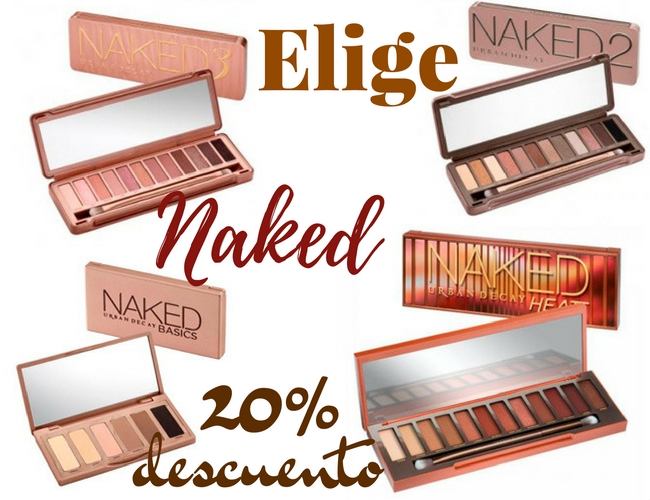Descuentos en Urban Decay - Friends & Fanatics - Paletas Naked