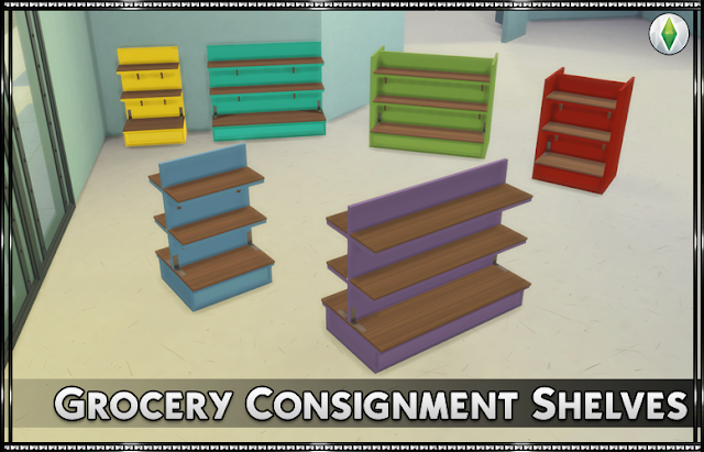 Grocery Consignment Shelves
