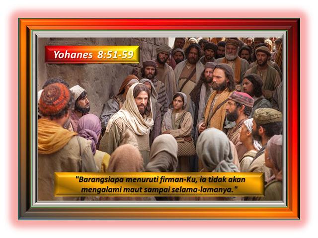 Yohanes 8:51-59
