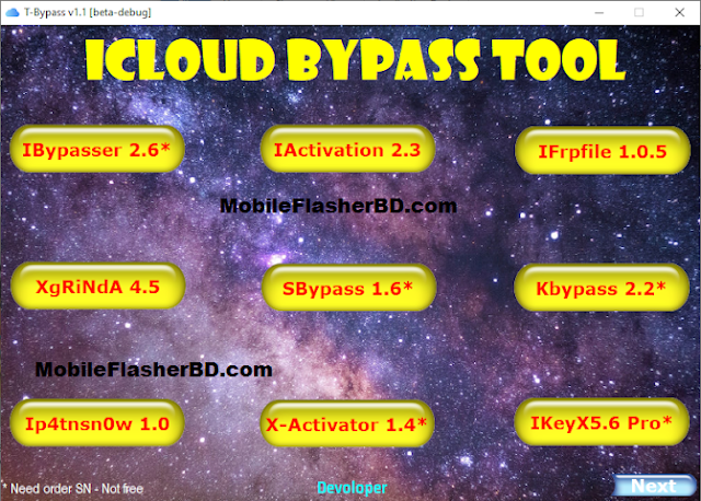 Download T-Bypass Tool v1.1 | Collection Bypass iCloud Tool Free For All. Collection Bypass iCloud Tool - All in one