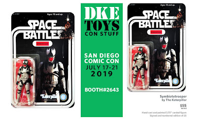 San Diego Comic-Con 2019 Exclusive Symbiotetrooper Star Wars x Marvel Comics Resin Figure by The Katerpillar x DKE Toys