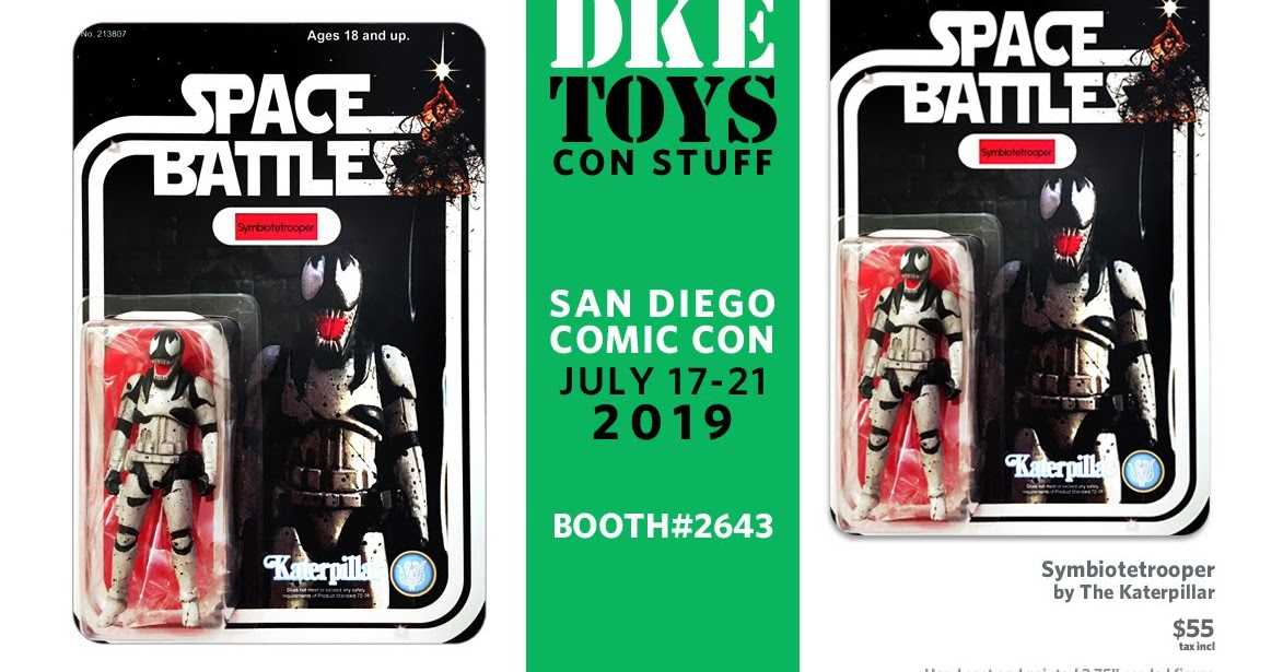 The Blot Says...: SDCC 2019 Exclusive Symbiotetrooper Star