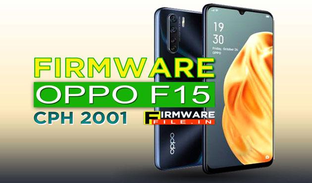 flash file Oppo F15 CPH 2001