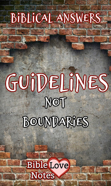 """Many teachings recommend """"boundaries"""" for relationship problems. The Bible offers a more constructive answer."""