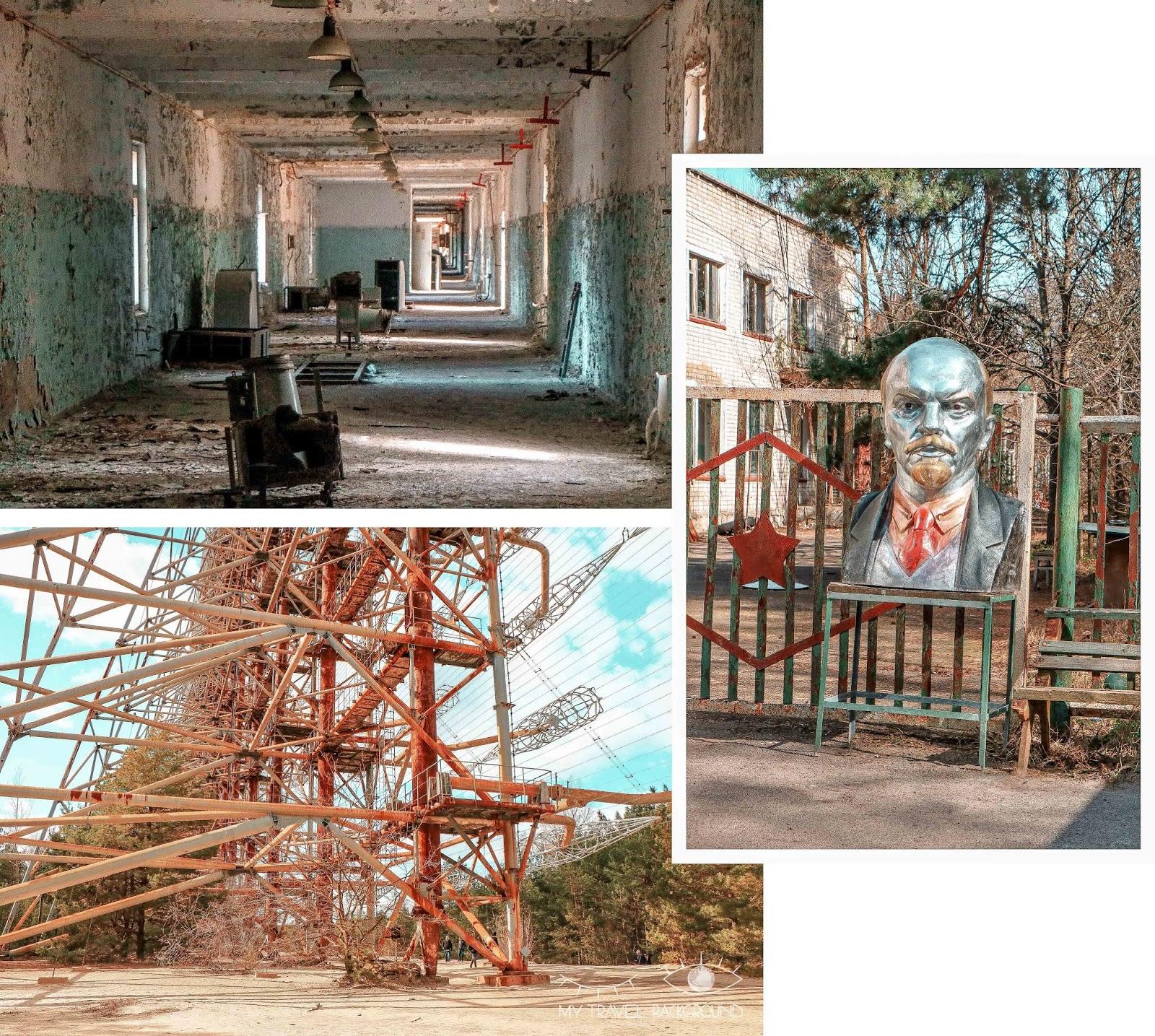 My Travel Background : une journée dans la zone d'exclusion de Tchernobyl - Reacteur 4