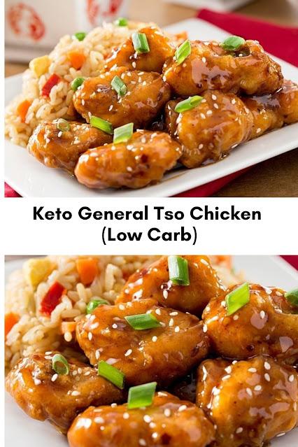 Keto General Tso Chicken (Low Carb)