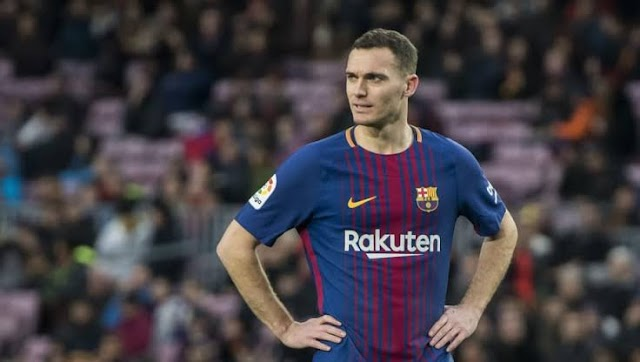 Thomas Vermaelen exit Camp Nou