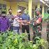 Pasiter Kodim 0307/Tanah Datar Berikan Bantuan  Bibit Sukun