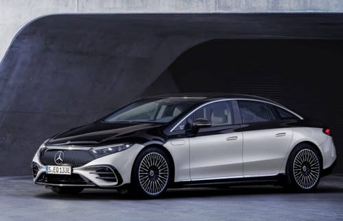 Mercedes launches EQS luxury electric car