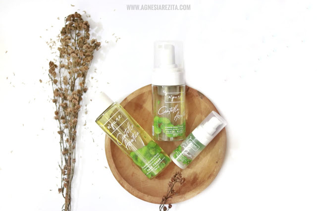 N'pure Centella Asiatica (Cica Series) Facial Wash, Face Toner & Silky Face Serum