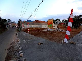 tanah kavling depan villa jati cileunyi