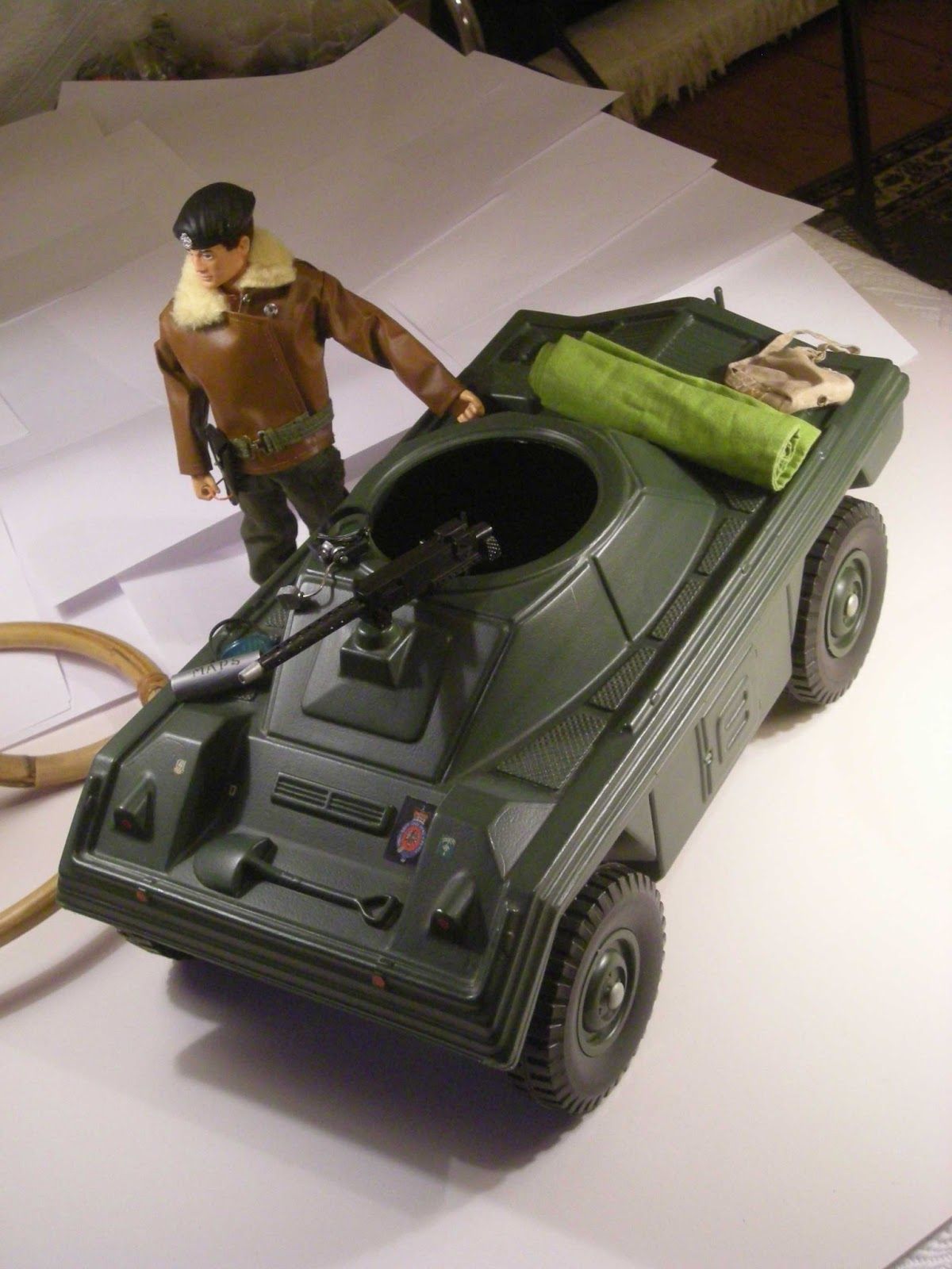 Vintage Palitoy Action Man 1973 84 Vehicles