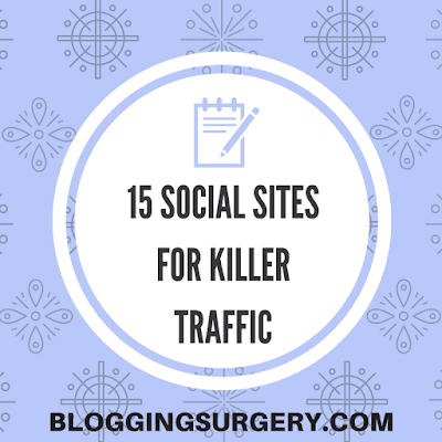 List of Social websites to get traffic