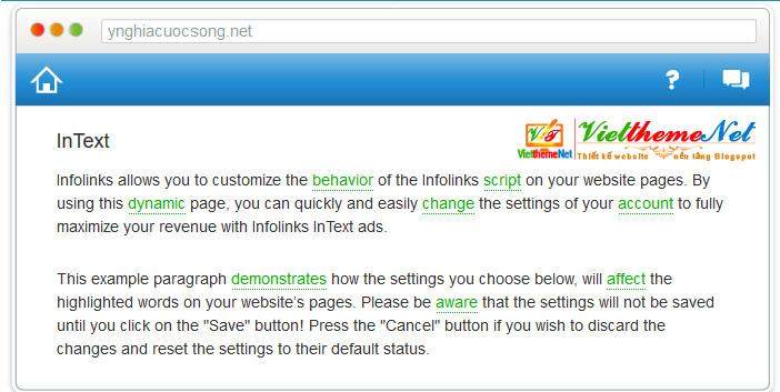 Cách kiếm tiền tự động bằng quảng cáo Intext cho website/blog dễ dàng với Infolinks
