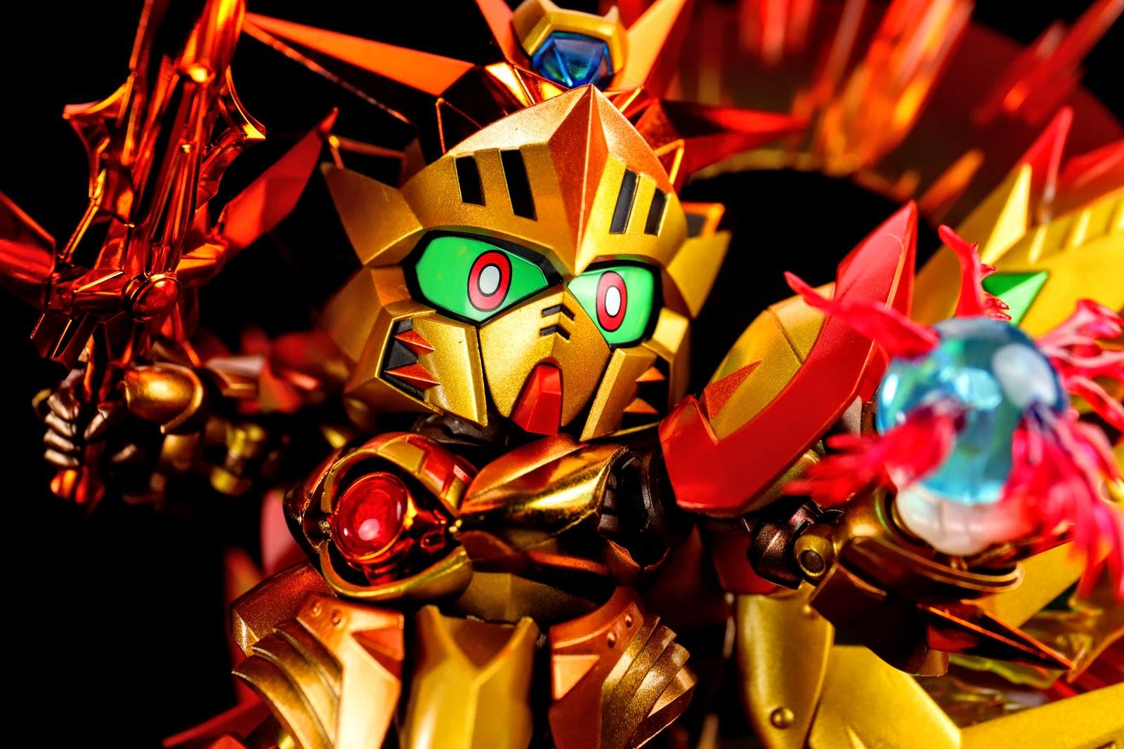 太陽騎士ゴッドガンダム 明鏡止水ゴールドバージョン