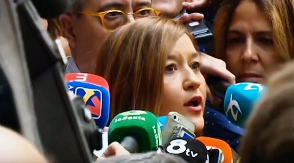 Pedro Sanchez prohíbe entrar a Verónica Pérez a la sede del PSOE