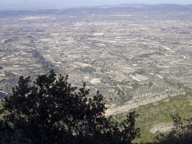 Vall d'Albaida des del Benicadell