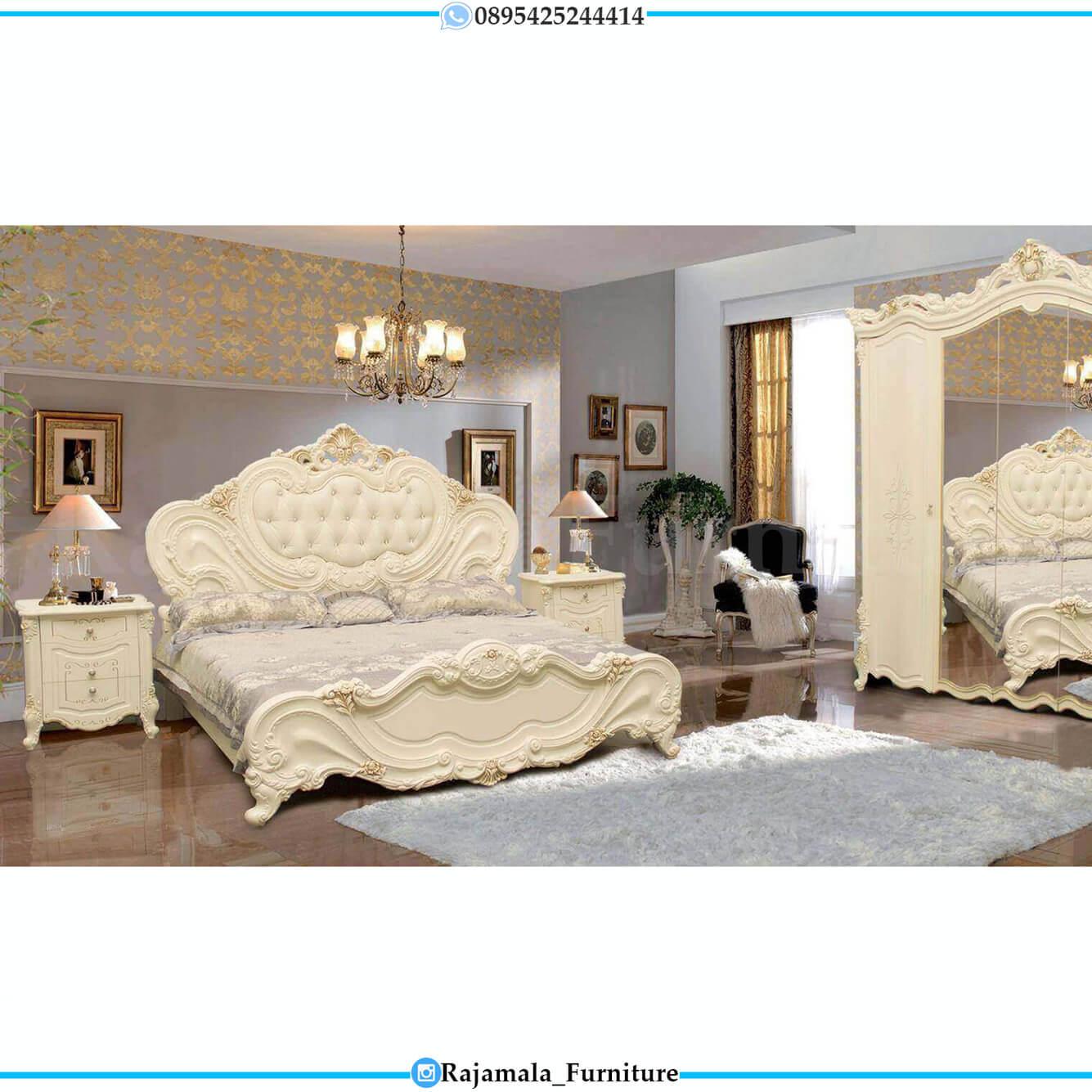 Jual Kamar Set Ukiran Jepara Luxury Carving Classic Model RM-0229