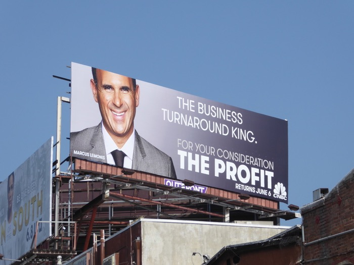 business turnaround king Profit 2017 FYC billboard