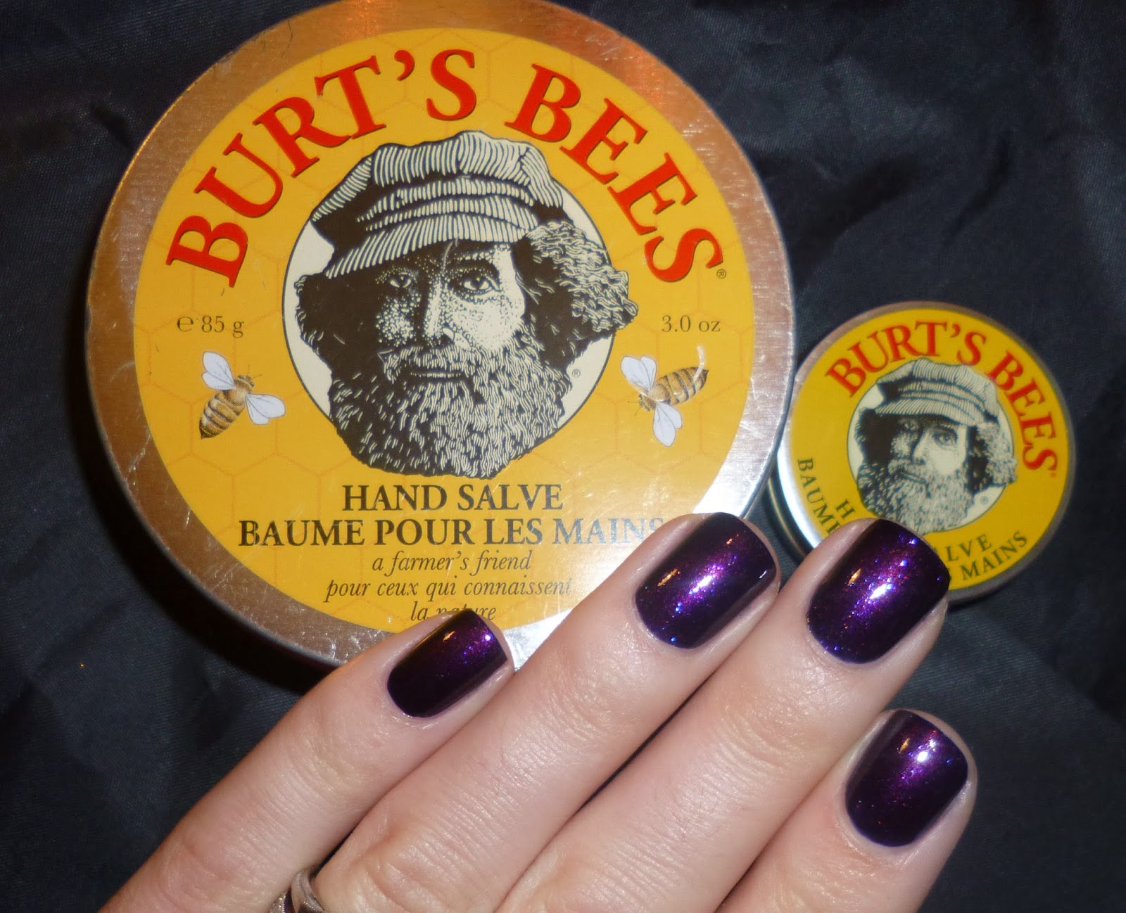 a63568c4c963 Lou is Perfectly Polished  Product Review  Burt s Bees Hand Salve