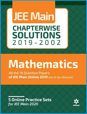 Arihant JEE Main Mathematics Chapterwise Solved Papers