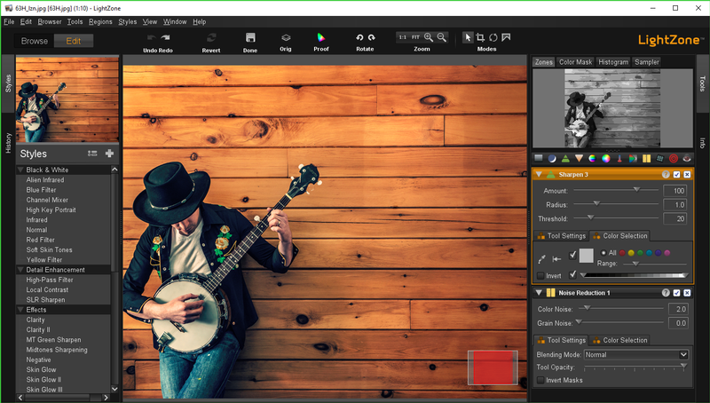 LightZone is a opensource software for photo editing..
