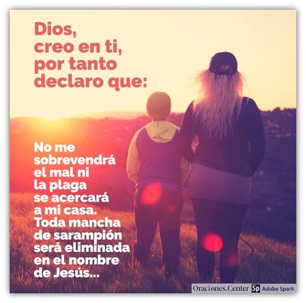 Oración contra el Sarampión