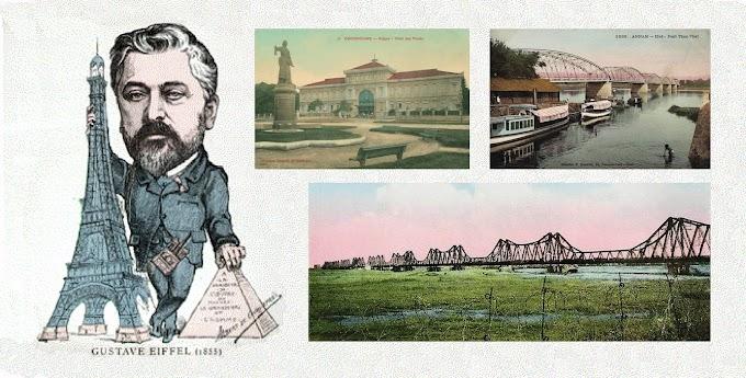Nhầm lẫn kỳ lạ về cầu Long Biên ở Hà Nội, cầu Trường Tiền ở Huế và Bưu điện Sài Gòn
