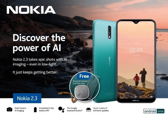 Nokia 2.3 launches in the Philippines, priced at PHP 5,990