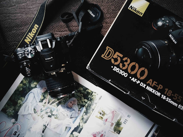 My Gadget Nikon D5300 For Blogging