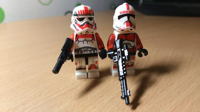 фигурка лего ударный клон и ударный штурмовик star wars звездные войны купить