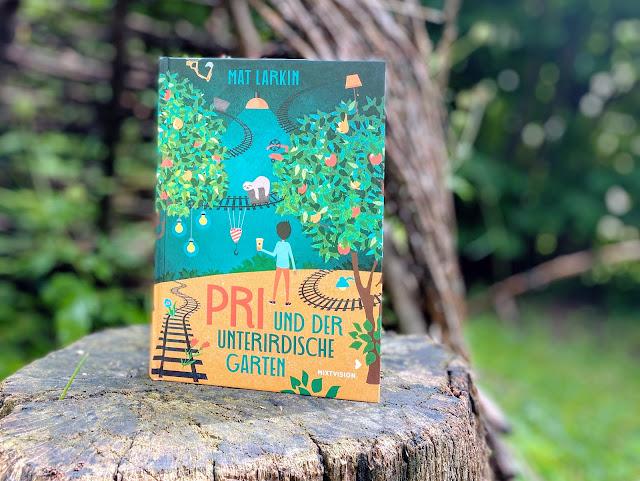 [Presseexemplar] Pri und der unterirdische Garten - Mat Larkin
