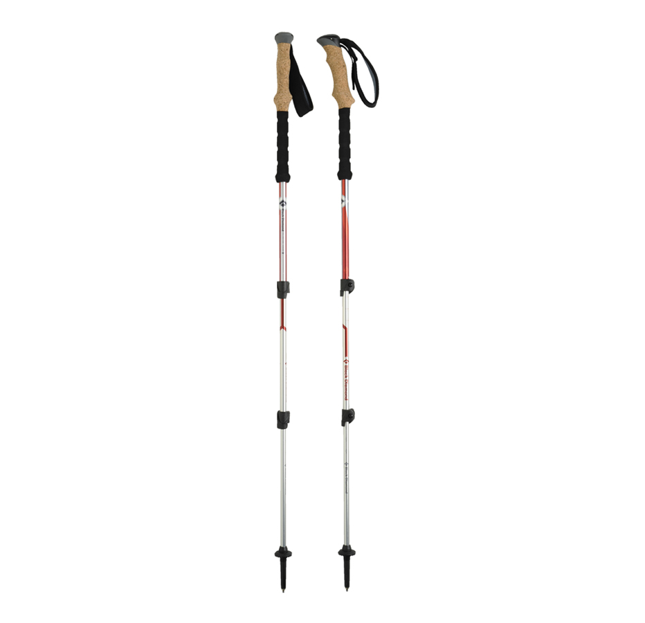 Thevoice Designs Black Diamond Trail Ergo Cork Trekking Poles