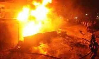 حريق بسبعة أفدنة قمح بالدقهلية