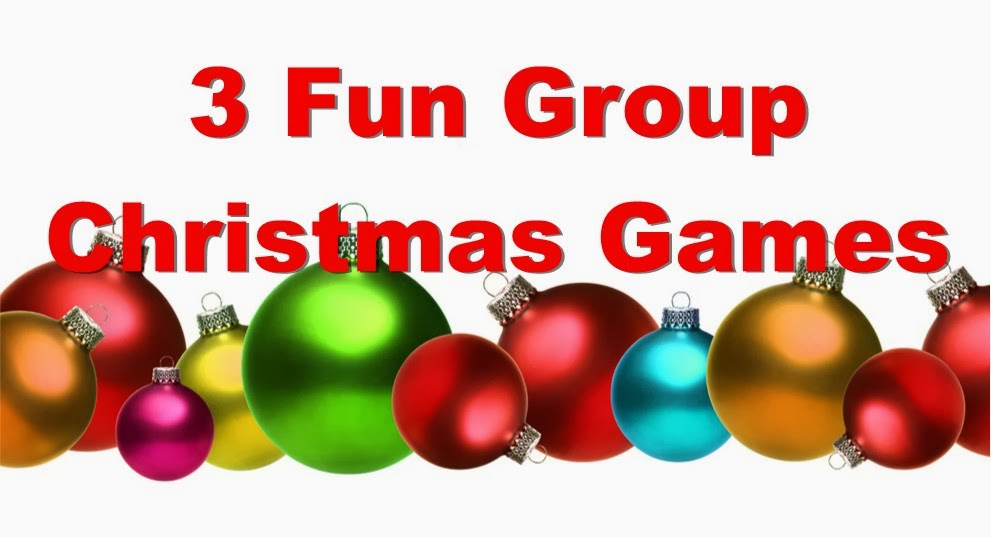 3 fun group christmas games free - Christmas Youth Group Games