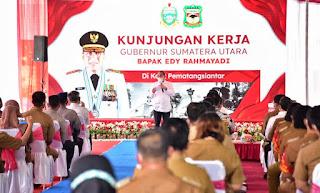 Gubernur Sumut Tekankan Pentingnya Peran OPD dalam Pembangunan Daerah