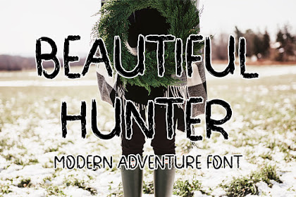 Beautiful Hunter Font - Best Brush font for your Business