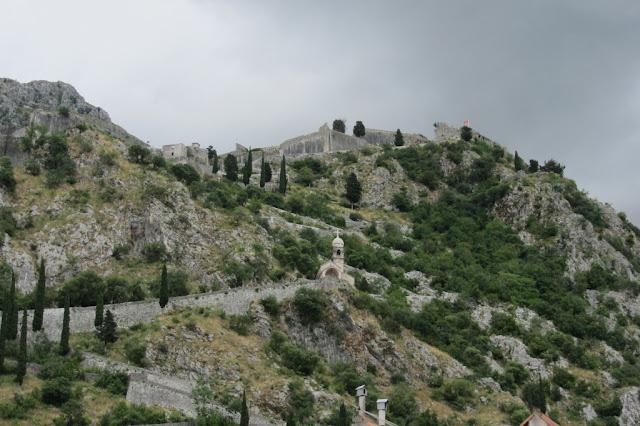 Montenegro fort boven Kotor
