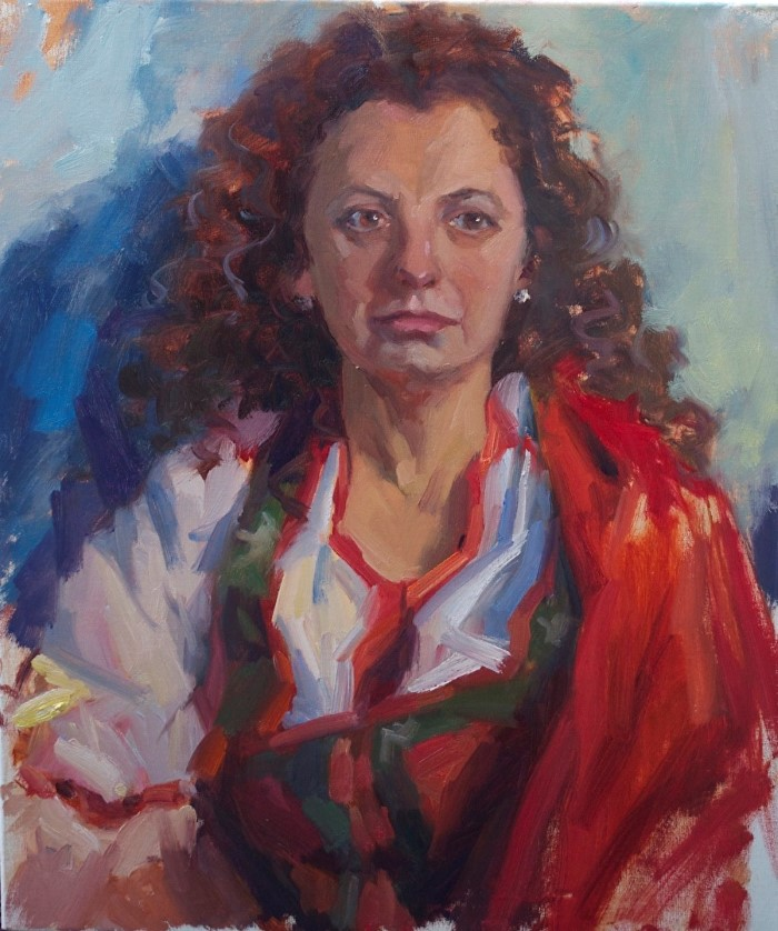 Американский художник. Emiliya Lane