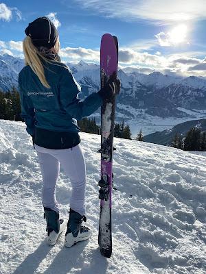 holly zimmermann ski touring zell am see running everest ultramarathon mom