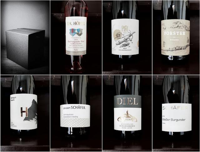 Die Weine aus dem Weinhöfefest-Paket zur Online-Weinprobe.