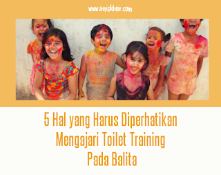 Toilet training pada balita