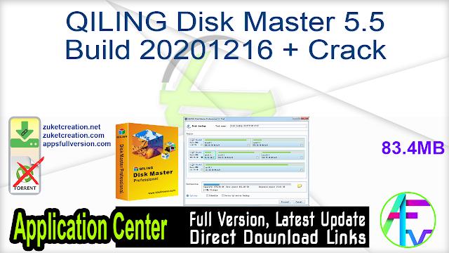 QILING Disk Master 5.5 Build 20201216 + Crack