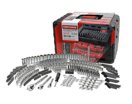 SEARS - Craftsman 450 pc. Mechanic's Tool Set $209.99