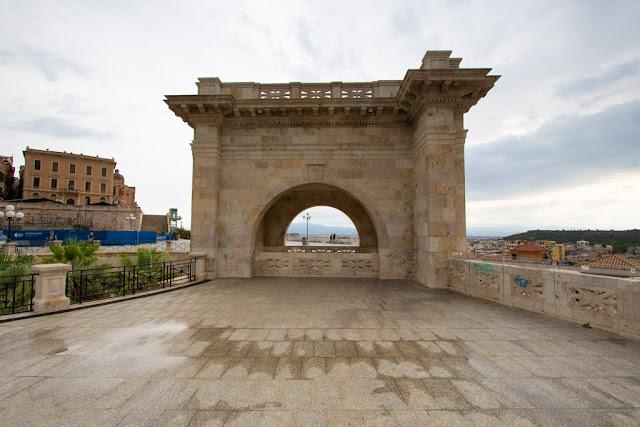 Bastione di Saint Remy e terrazza Umberto I-Cagliari