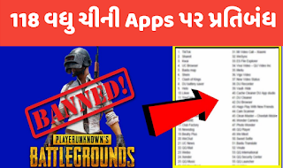 It ministry more 118 Chinese apps banned